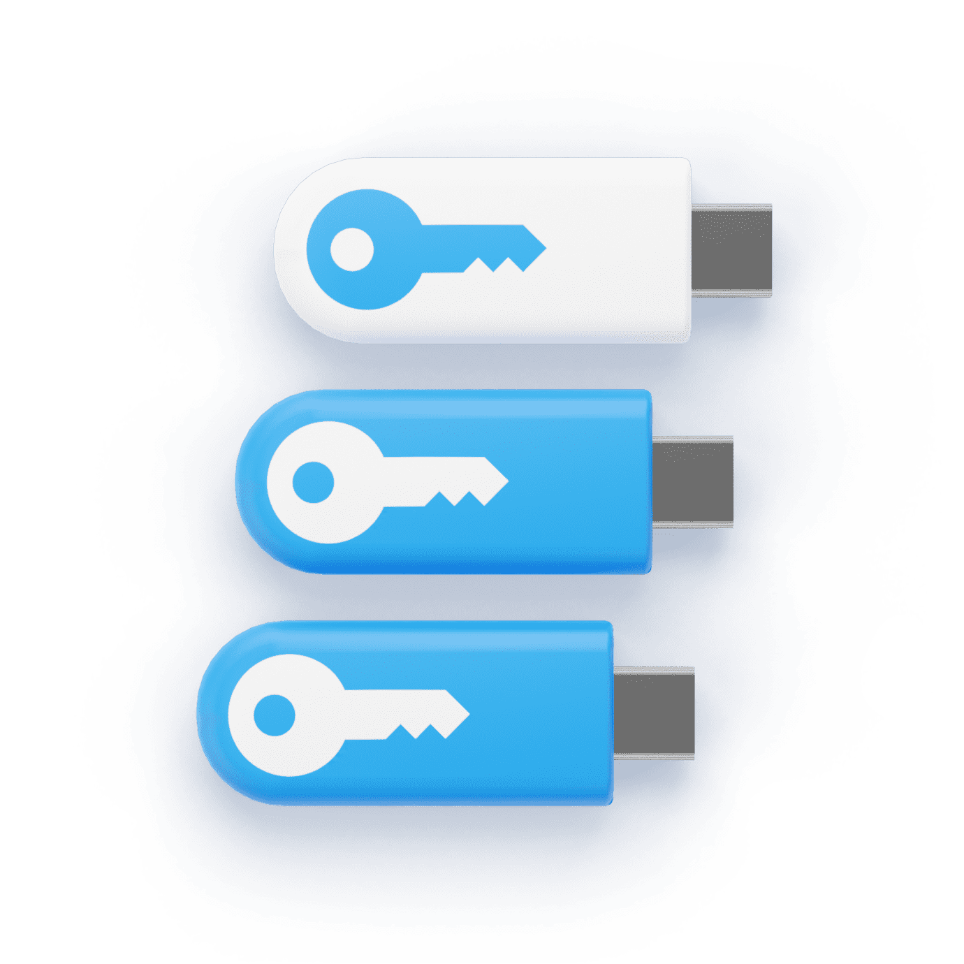 Key with electronic security